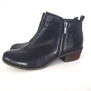 Lucky Leather Booties Basel Ankle Boots Size 10